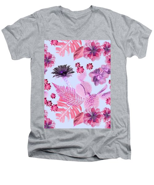Desert Garden Men's V-Neck T-Shirt