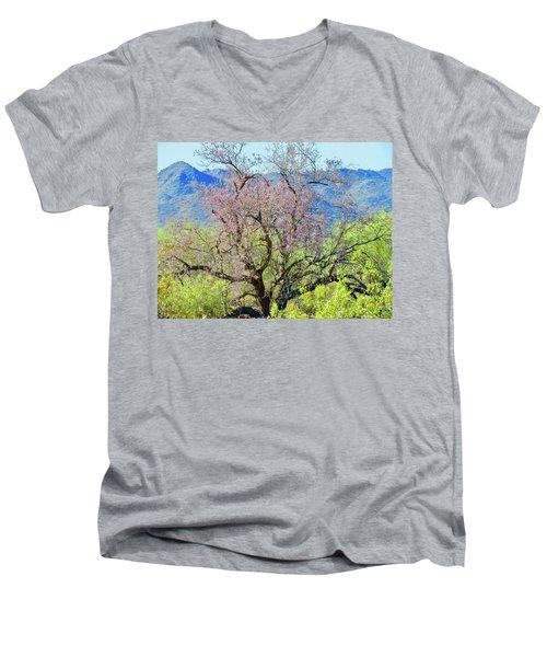 Desert Ironwood Beauty Men's V-Neck T-Shirt