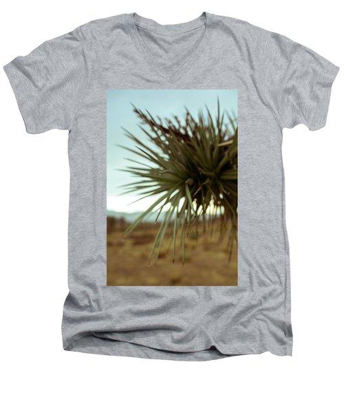 Desert Leaves Men's V-Neck T-Shirt