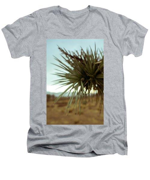 Desert Leaves Men's V-Neck T-Shirt