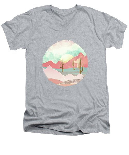 Desert Mountains Men's V-Neck T-Shirt