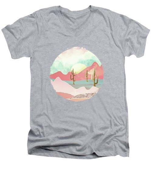 Desert Mountains Men's V-Neck T-Shirt