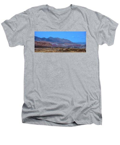 Desert Night Men's V-Neck T-Shirt