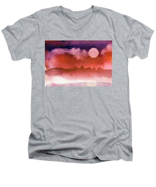 Desert Reflection Men's V-Neck T-Shirt