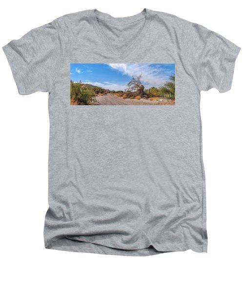 Desert Road Men's V-Neck T-Shirt