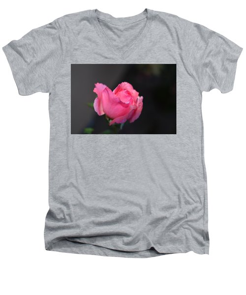 Desert Rose 1 Men's V-Neck T-Shirt