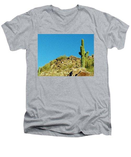 Desert Sky Men's V-Neck T-Shirt