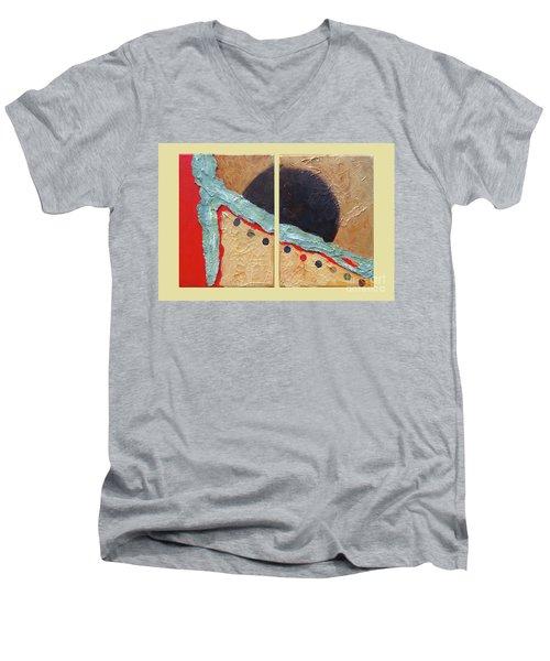 Desert Sun I Men's V-Neck T-Shirt