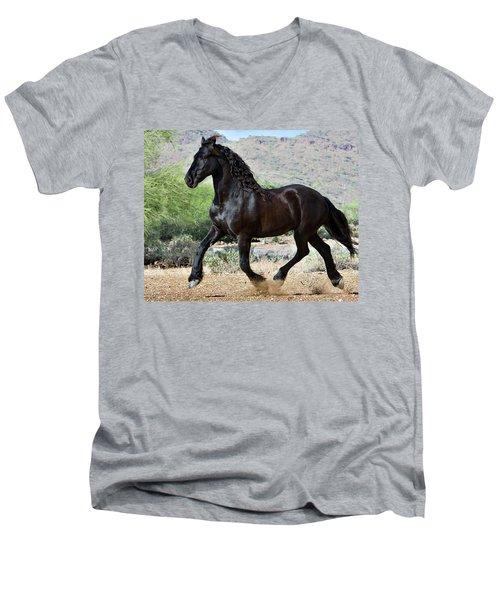 Desert Wind Men's V-Neck T-Shirt