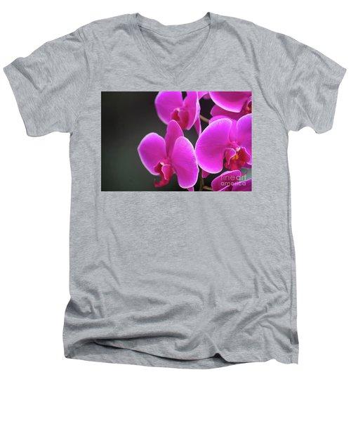 Details In Soft Colors  Men's V-Neck T-Shirt