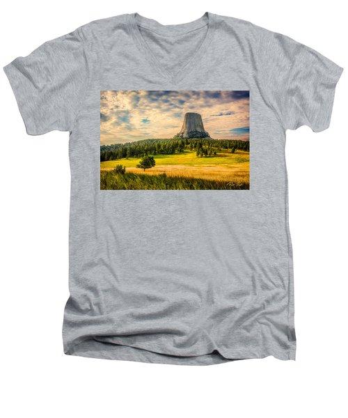 Devil's Tower - The Other Side Men's V-Neck T-Shirt
