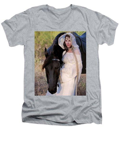 Devotion Men's V-Neck T-Shirt