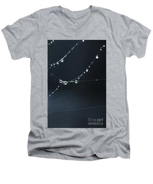 Dew On Cobweb 001 Men's V-Neck T-Shirt