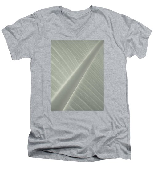 Diagonals Men's V-Neck T-Shirt by Tim Good