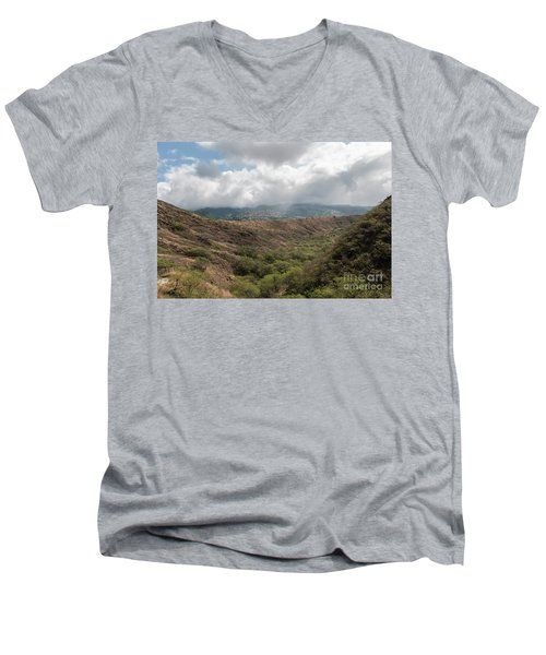 Diamond Head View Men's V-Neck T-Shirt