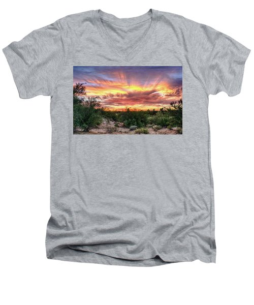 Diamond Sky Men's V-Neck T-Shirt