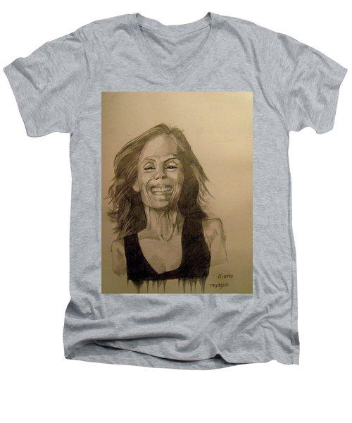 Diana Men's V-Neck T-Shirt
