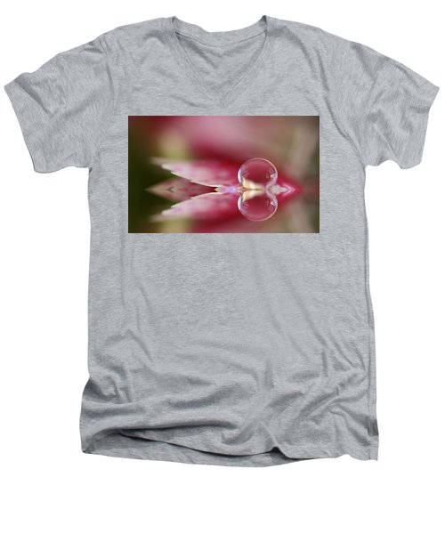 Dianthus Dreaming Men's V-Neck T-Shirt