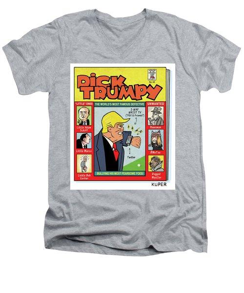 Dick Trumpy Men's V-Neck T-Shirt