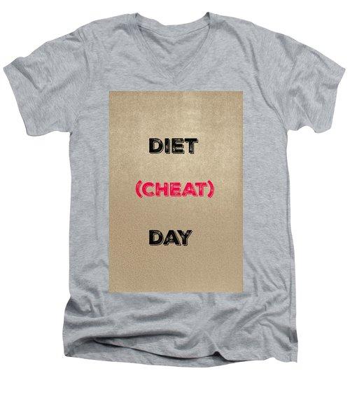 Diet Day? #2 Men's V-Neck T-Shirt