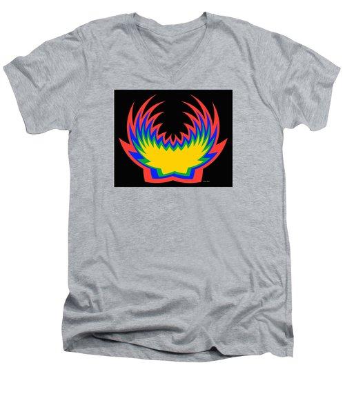 Digital Art 14 Men's V-Neck T-Shirt by Suhas Tavkar