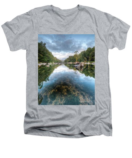 Dimensions Men's V-Neck T-Shirt