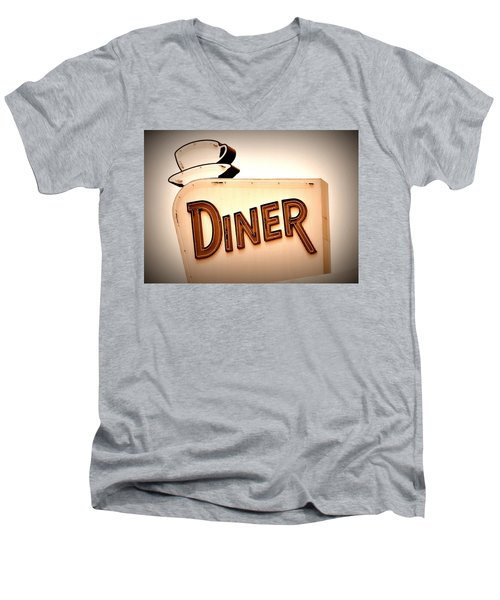Diner Men's V-Neck T-Shirt