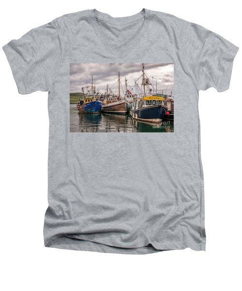 Dingle Harbour Men's V-Neck T-Shirt