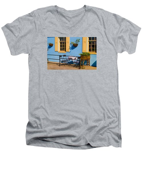 Dining Out Men's V-Neck T-Shirt