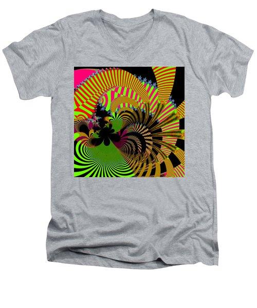 Dintroutio Men's V-Neck T-Shirt