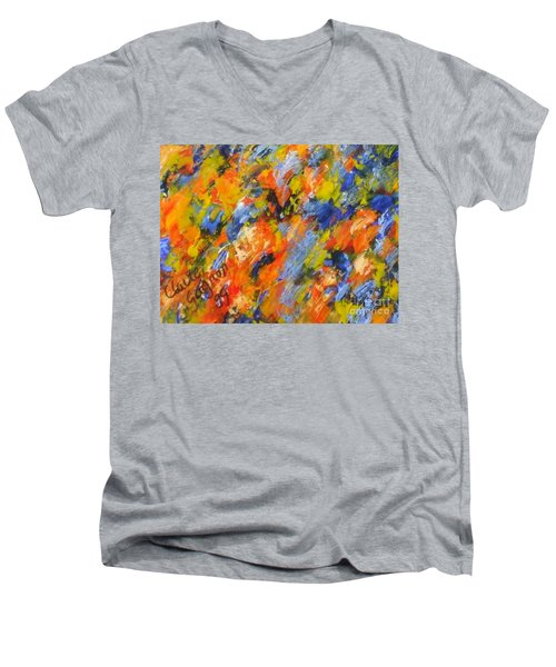 Diptych Part 2 Men's V-Neck T-Shirt