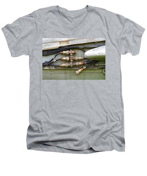 Disconnected Men's V-Neck T-Shirt