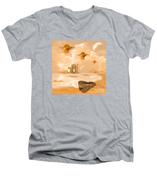 Discovery Men's V-Neck T-Shirt