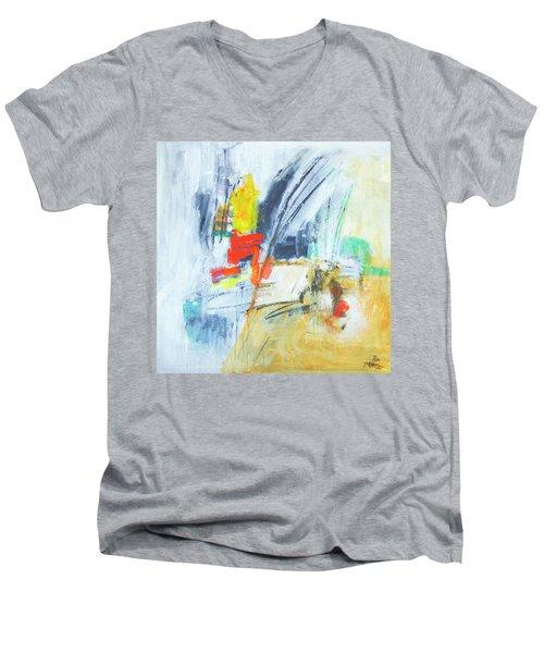 Discovery Three Men's V-Neck T-Shirt