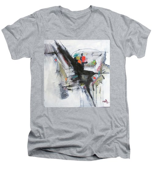 Discovery Two Men's V-Neck T-Shirt
