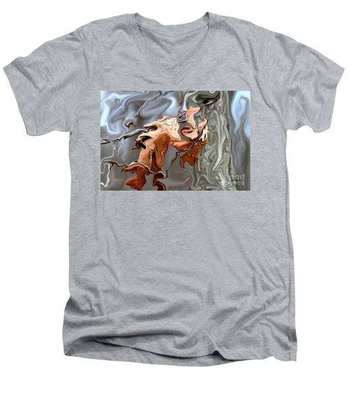 Disintegration  Men's V-Neck T-Shirt