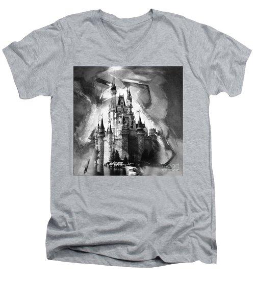 Disney World 031 Men's V-Neck T-Shirt