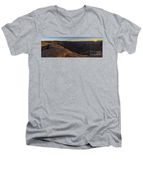 Dissolving Light Men's V-Neck T-Shirt