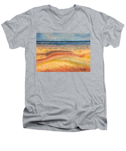 Distance Men's V-Neck T-Shirt