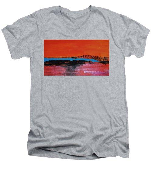Distant City Men's V-Neck T-Shirt