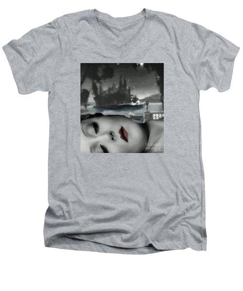 Distant Dreams Men's V-Neck T-Shirt