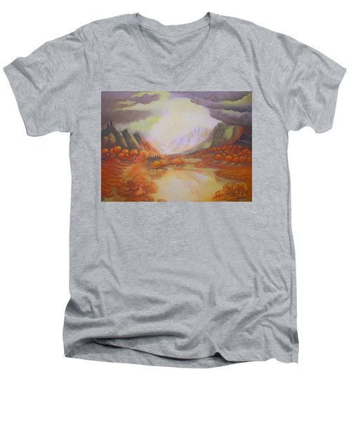 Distant Light Men's V-Neck T-Shirt