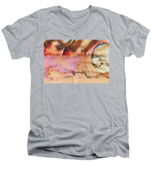 Distant Shores Men's V-Neck T-Shirt