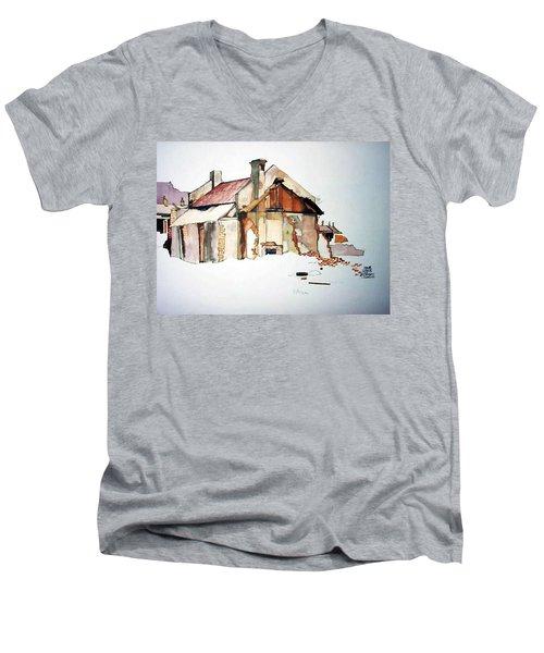 District 6 No 2 Men's V-Neck T-Shirt
