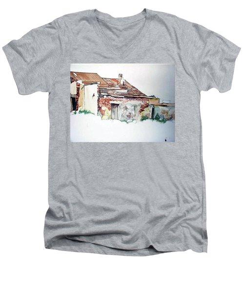 District 6 No1 Men's V-Neck T-Shirt