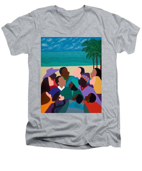 Diversity In Cannes Men's V-Neck T-Shirt