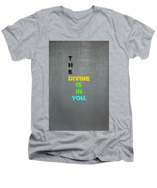 Divine #4 Men's V-Neck T-Shirt