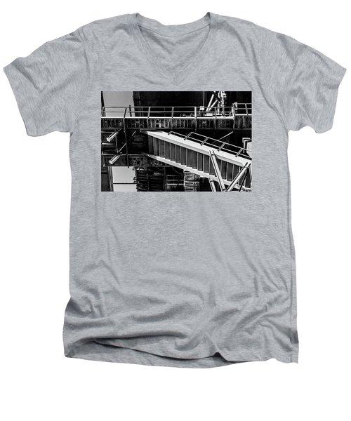 Division Men's V-Neck T-Shirt