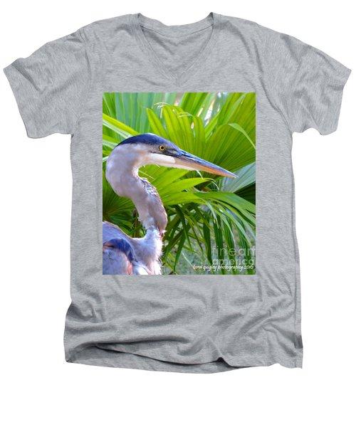 Dixieland Blues Men's V-Neck T-Shirt