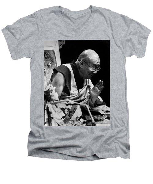 Dl_teaching Men's V-Neck T-Shirt